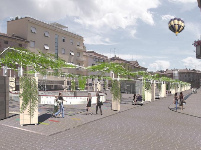 Piazza dei Martiri Sassuolo Modena