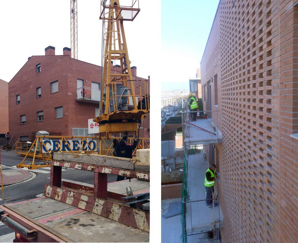 construcción de bloque de viviendas