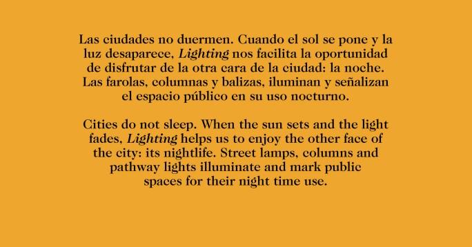 Nuevo Catalogo iluminación Barcelona texto