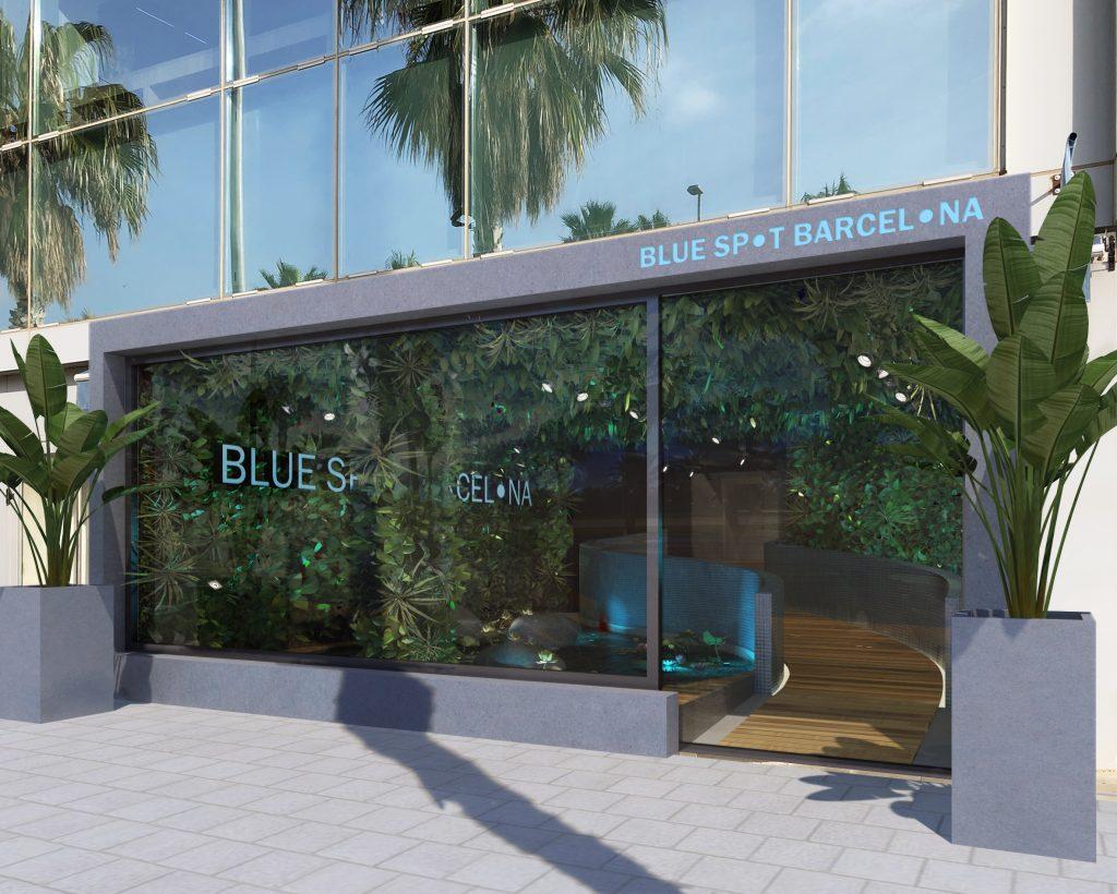 Entrada Restaurante Blue Spot Barcelona